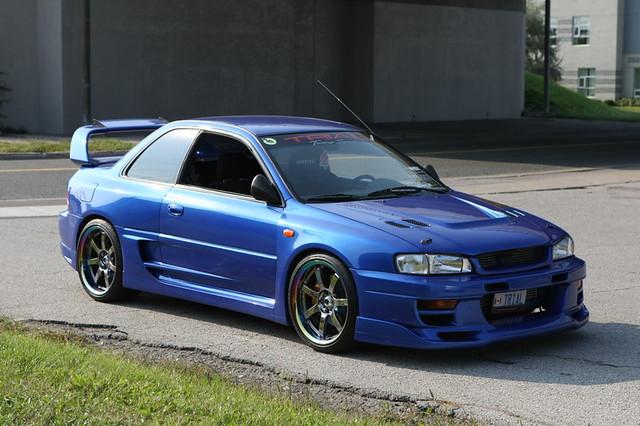 My 1997 Gc8 Wrx Sti Nz Subaru