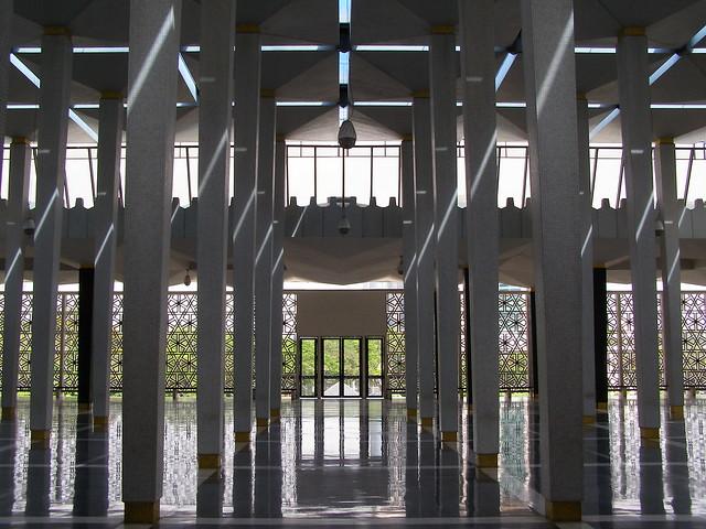 国家回教堂大厅