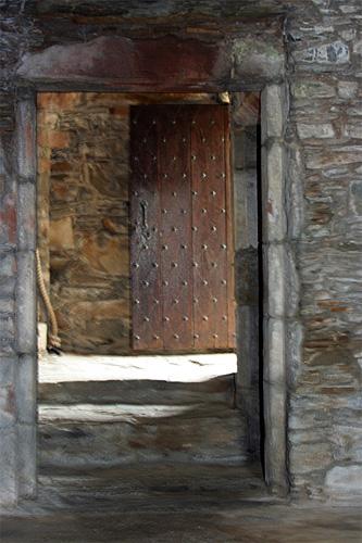 Carsluith Castle door