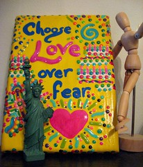 Choose Love Over Fear by elycefeliz