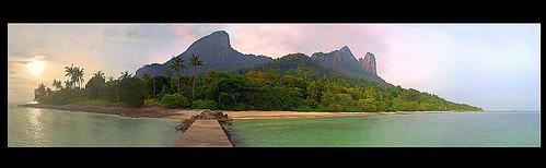 tioman tropical island
