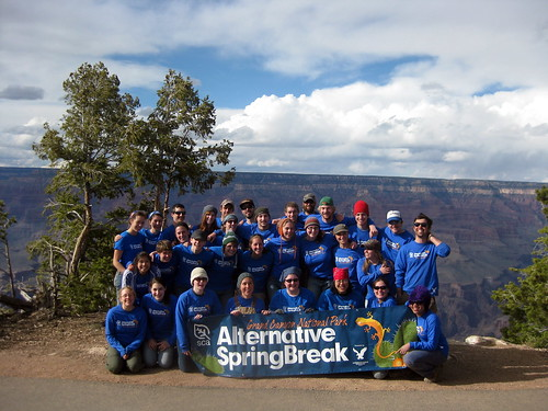 Alternative Spring Break at the Grand Canyon