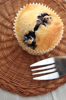 Bleuberry yoghurt muffin