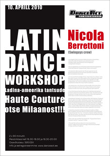 Latin Dance Workshop / Nicola Berrettoni / DanceAct 10.04.2010
