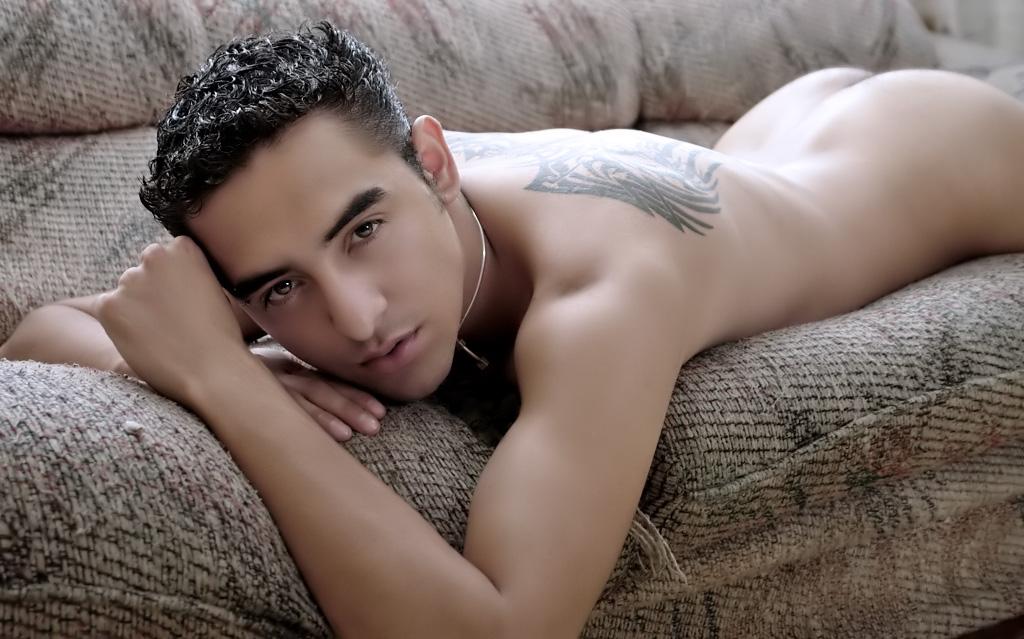 Gay ass model