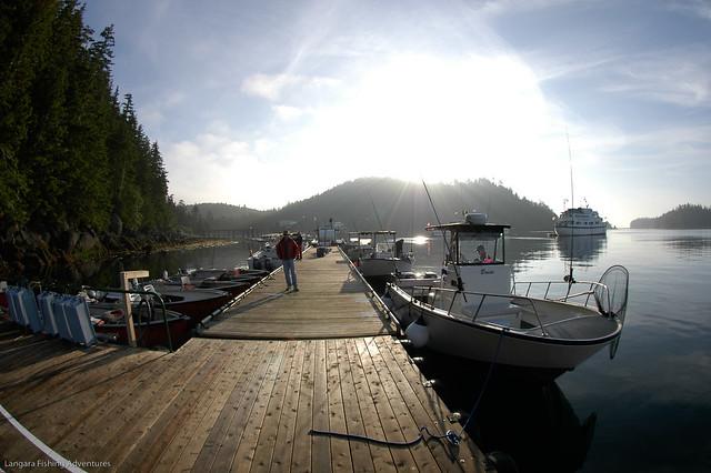 Langara island lodge docks flickr photo sharing for Langara fishing lodge