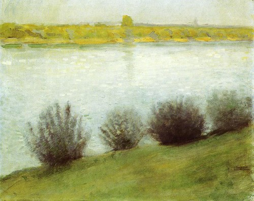 August Macke 1908 The Rhine near Herzel - Bonn, Kunstmuseum; Ath