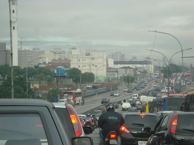 Cidade congestionada, São Paulo