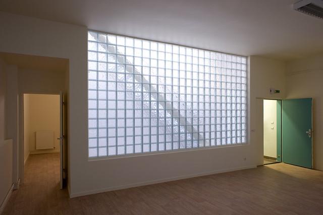logements atelier choiseul paris mur en pav de verre flickr photo sharing. Black Bedroom Furniture Sets. Home Design Ideas
