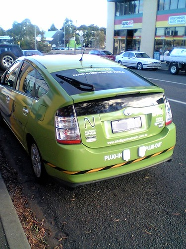 Prius Plug-in Plug-out hybrid Car in Canberra