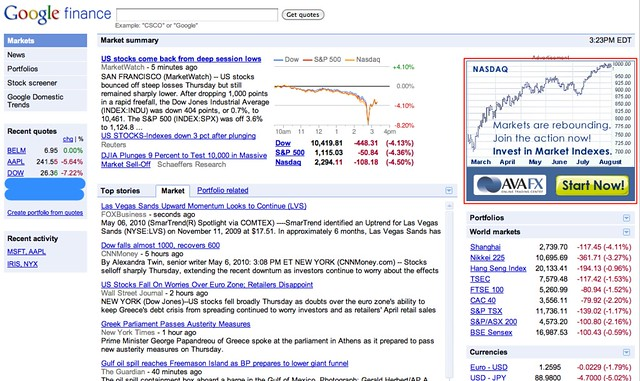 Google Finance Stock Market Quotes News