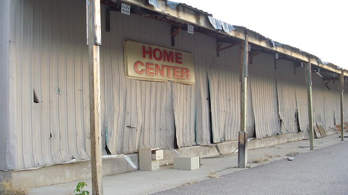 "Chaska Building Center - ""Home Center"" sign"