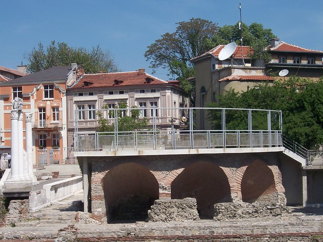The Roman Forum and Odeon site, Plovdiv