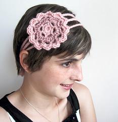 Spring Blossom Crochet Flower Headband  99458752d48