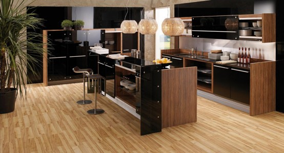 Modern-Kitchen-In-Wooden-Finish-2 | Explore home space's ...