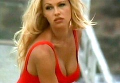 Pamela Anderson, Baywatch capture, 1994.