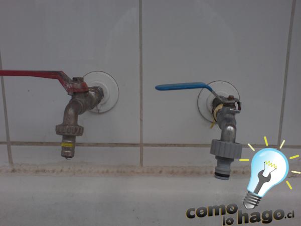 C mo cambiar una llave para el agua taringa for Llave de paso de agua