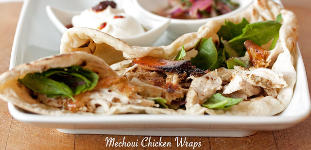 Georgina Ingham | Culinary Travels Photograph: Jamie Oliver inspired Mechoui Chicken Wraps from Morocco