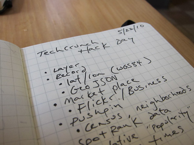 Taking notes for SimpleGeo