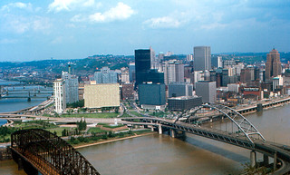 """Pittsburgh - """"Golden Triangle"""" (1968)"""