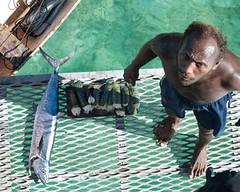 斐濟漁民。
