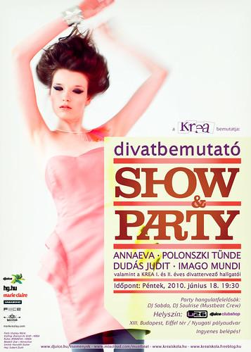 Divatbemutató Show&Party