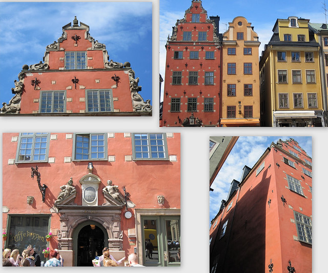 A medieval House in Gamla Stan (Stockholm Old Town)