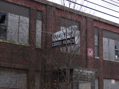 Abandoned factory, Watertown MA