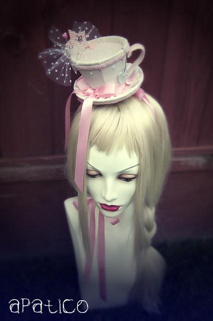 Pink Teacup Hat Flickr Photo Sharing