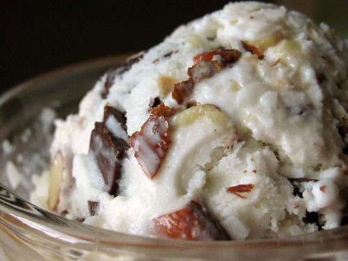 Almond Joy Ice Cream Up Close | Flickr - Photo Sharing!