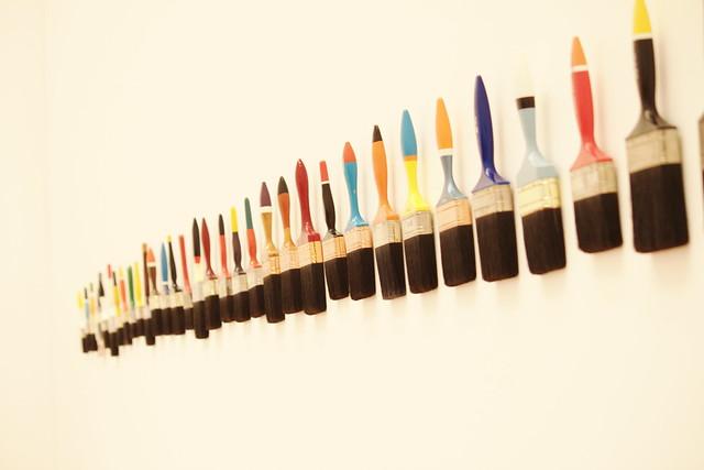 Bunnings Artist Paint Brushes Large