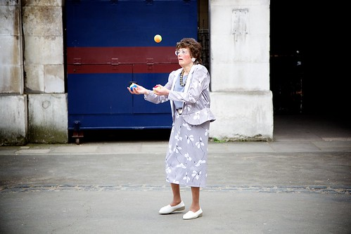 Whitehall juggler