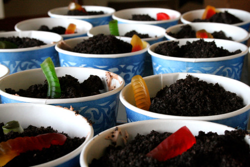 Dirt Cakes for Earth Day.