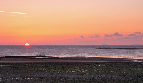 sunrise dawn somerset minehead
