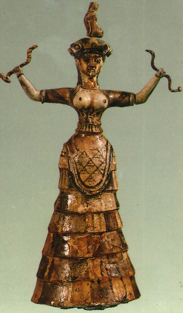 Minoan Women S Fashion
