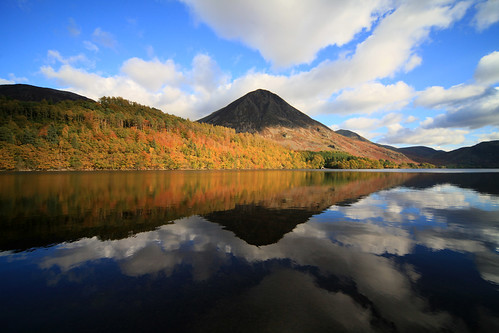 Autumn Crummock Water