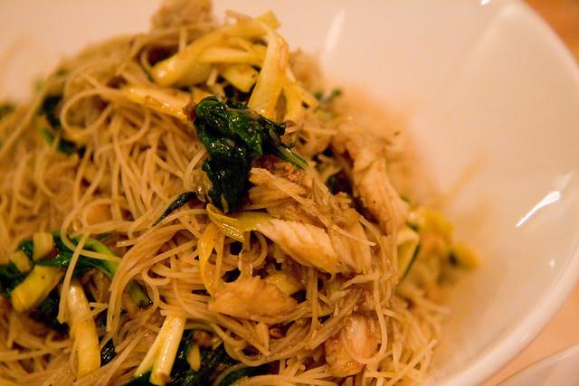 Crab noodles, Kin Shop | We Heart New York: Kin Shop | Flickr - Photo ...