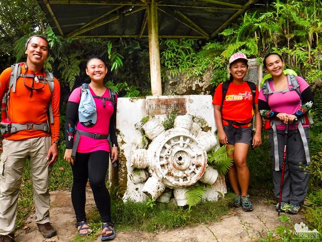 Mt. Pinatubo Engine Memorial