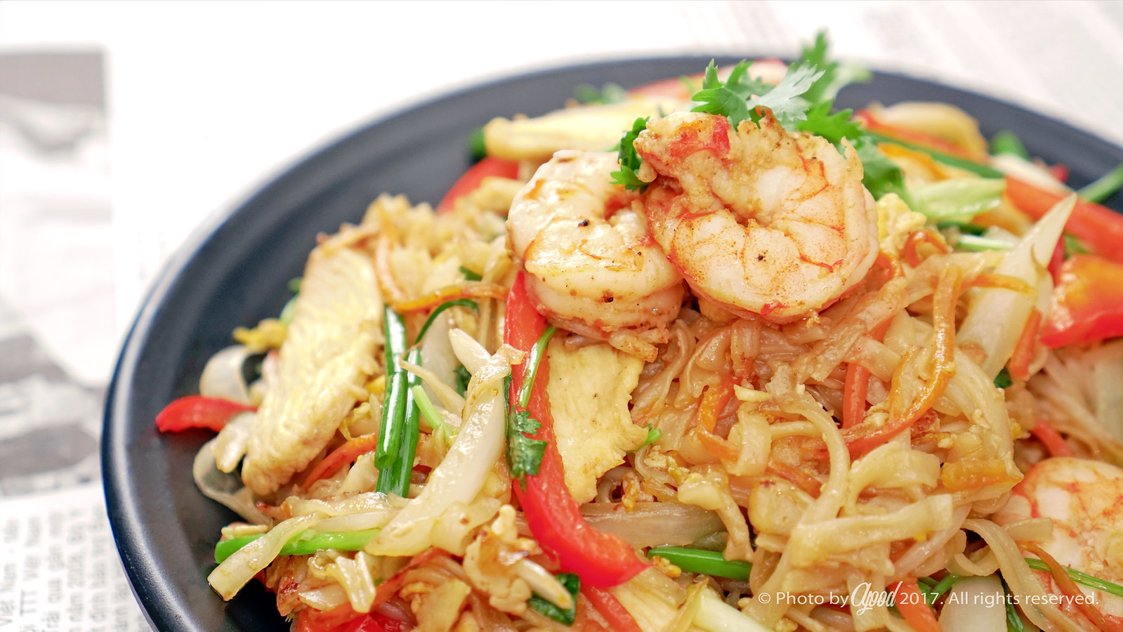 PAD THAI – THAILAND SOUR AND SWEET STIR FRIED RICE NOODLES