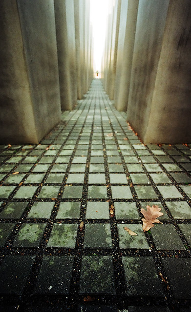 Holocaust Mahnmal, Berlin, 2009