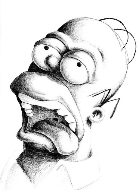 Homer__in_graphite_by_outsmartass