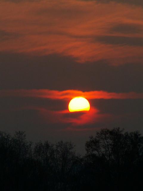 Sonnenaufgang Himmel Wolke Sonne Morgenrot