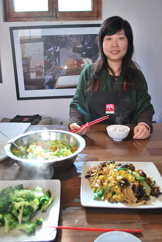 Chinese Home Cooking Class: My Teacher, Carrie