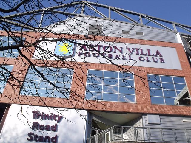 Trinity Road Stand - Villa Park - Aston Villa Football Club