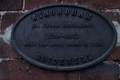 Photo of Thomas Beevor black plaque
