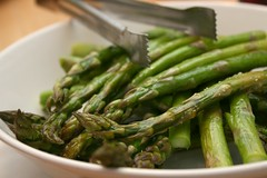 green bean(0.0), vegetable(1.0), asparagus(1.0), produce(1.0), food(1.0), dish(1.0), asparagus(1.0), cuisine(1.0),