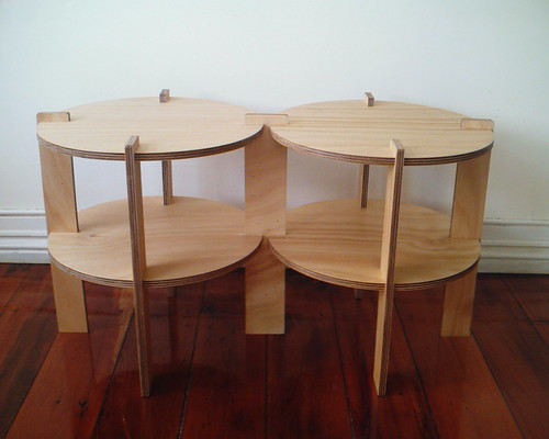 Apollo3 side coffee tables inter connected