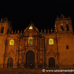 Cusco's Cathedral at Night - Peru