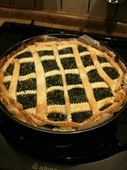 pie, baking, blueberry pie, linzer torte, baked goods, produce, food, dish, cuisine,