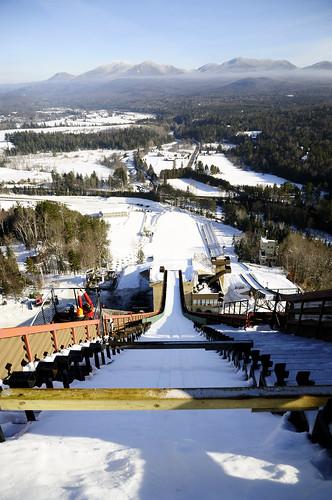 winter newyork view hill olympics slope lakeplacid skijump 1685 nikond300 120mtower